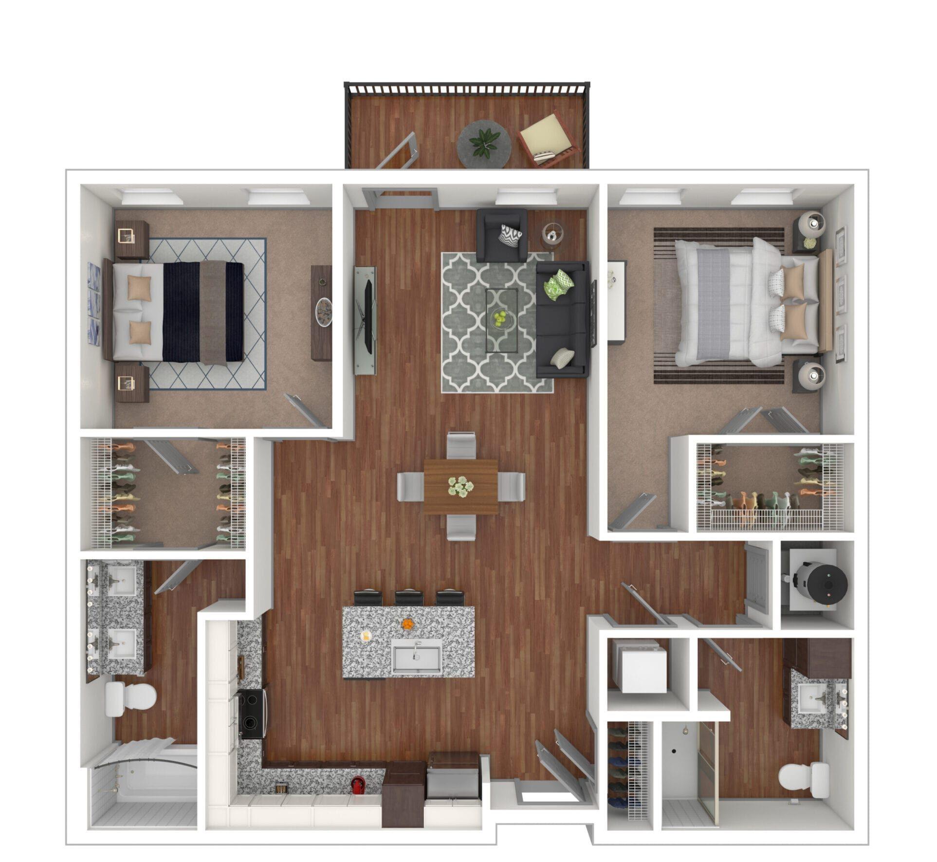 Pinnacle - The Otis at Fort Ben Apartments